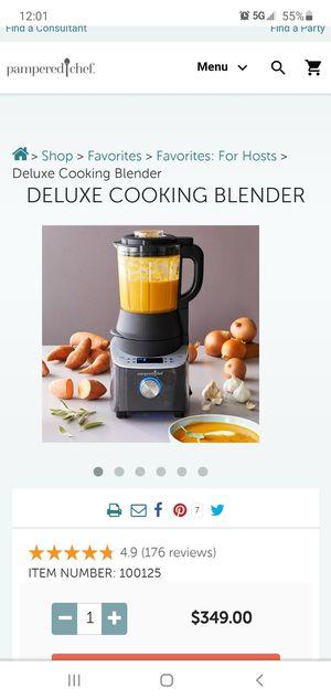 Pampered chef Deluxe blender for Sale in Henderson, NV