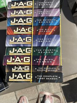 JAG - DVD - Complete 10 Seasons for Sale in Cape Coral,  FL