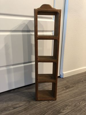 Wooden shelf with 4 cubbies for Sale in Kapolei, HI