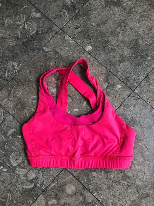 Lululemon Hot Pink Sports Bra - Size 4
