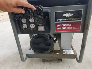 Brigss&stratton generator 5500watts for Sale in Brownsville, TX