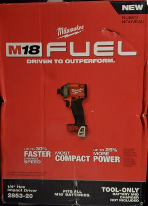 M18 FUEL 18-Volt Lithium-Ion Brushless Cordless 1/4 in. Hex Impact Driver (Tool-Only) for Sale in Norcross, GA