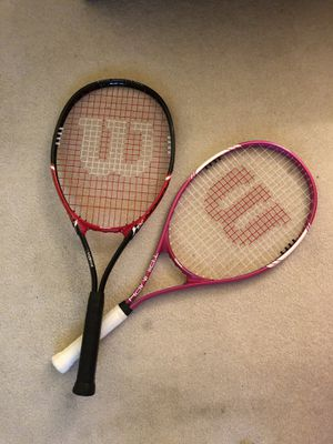 Two tennis rackets for Sale in Chicago, IL