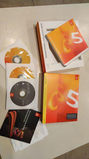 Adobe Creative Suite 5 design standard for Sale in Zephyrhills, FL