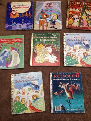 VINTAGE CHRISTMAS LITTLE GOLDEN BOOKS for Sale in St. Louis, MO