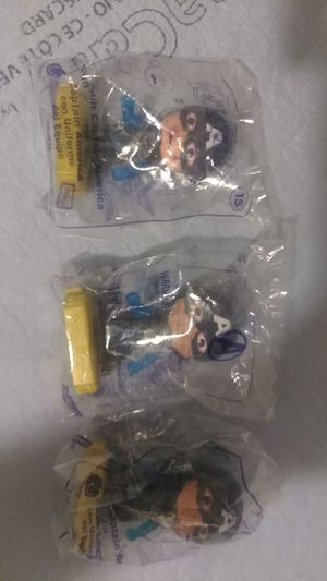 Lot if 3 Toy Captain America Avengers for Sale in Phoenix, AZ
