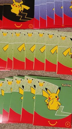 25pc UNOPENED McDonalds 25th Anniversary Pokemon Card Toys for Sale in Boring,  OR