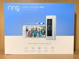 Ring Video Doorbell Pro, Works with Alexa BRAND NEW 145$ 🎥📷📸🔥 for Sale in Houston, TX