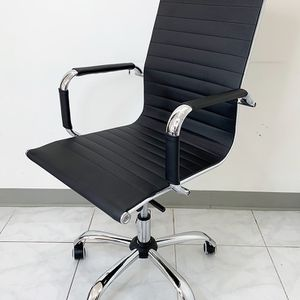 New $85 Executive Computer Office Chair Mid Back Adjustable Seat Recline PU Leather for Sale in Pico Rivera, CA