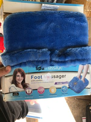 SpaMassage Foot Massager with Comfort Fabric for Sale in Streamwood, IL