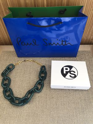 Authentic Paul Smith Acrylic Chain Necklace for Sale in Tacoma, WA