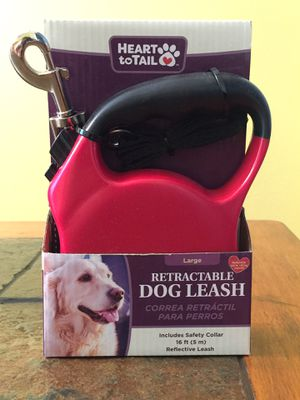 Heart to Tail retractable Dog leash for Sale in Lakeland, FL