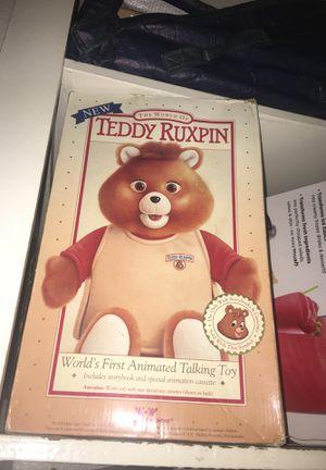 Teddy ruxpin for Sale in San Jose, CA