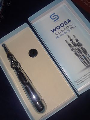 Woosa accupuncture massage pen for Sale in Riverside, CA