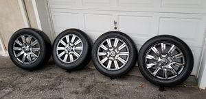 """19"""" Land Rover Range Rover OEM LR4 wheels rims black chrome for Sale in Morristown, NJ"""