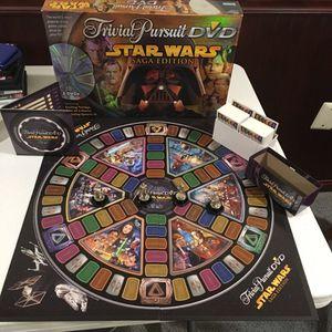 Star Wars Trivial Pursuit DVD Saga Edition for Sale in Ashburn, VA