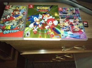 Nintendo switch games for Sale in Wenatchee, WA