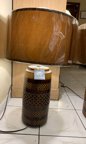 2 brown side lamps for Sale in Miami, FL