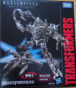 Hasbro Transformers Masterpiece Movie Series MEGATRON MPM-8 Takara Tomy UNOPENED for Sale in Pinetop, AZ