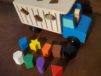 Melissa & Doug Wooden Shapes Truck for Sale in Orlando,  FL