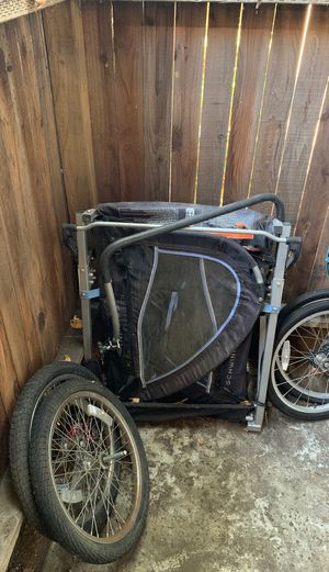 Schwinn bike and kids trailer in good condition. A little dirty but with a little TLC It will look brand new. for Sale in Chula Vista, CA