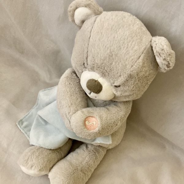 "11"" Carter's Cuddly Lullaby Soother Bear Plush Lovey"