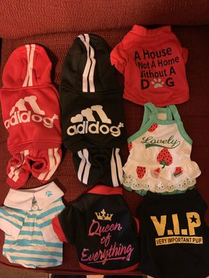 X SMALL PUPPY CLOTHES for Sale in Arlington, TX