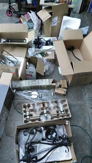 Lamp and chandeliers for Sale in San Clemente, CA