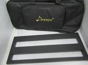 Donner DB-3 Guitar Pedal Board Case Aluminum Pedalboard Bag for Sale in Carmel, IN