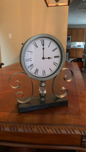 Decorative clock for Sale in Irving, TX