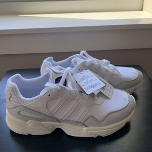 Adidas Yung-96 Cloud White Gray One Shoes Size 7.5 , 8.5 , 10.5 , 11.5 , 12 for Sale in Ithaca, NY