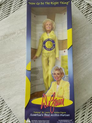 Dr. Laura Schlessinger Talking 11-Inch Action Figure for Sale in San Diego, CA