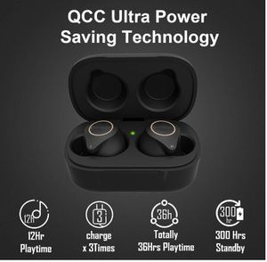 Brand New Seal In Box 5.0 Stereo Hi-Fi True Wireless Earbuds Bluetooth Sound w/ Touch Control,Qualcomm CSR APTX Chipset CVC8.0 Noise Cancelling in-Ea for Sale in Hayward, CA