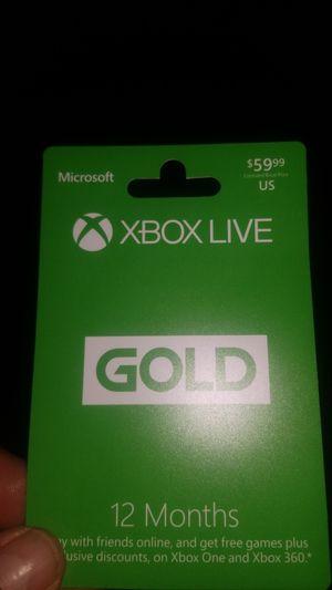 X box live gold for Sale in Selma, CA