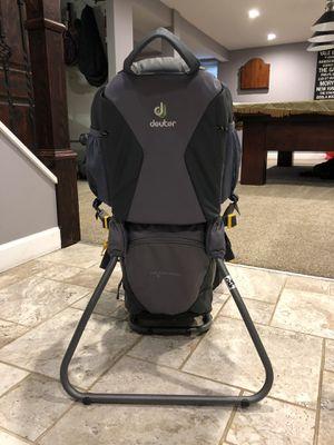 Deuter Kid Comfort 1 Baby hiking backpack for Sale in Rockville, MD