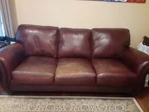 Couch/ Sofa set (leather 6 pieces) for Sale in Old Bridge, NJ