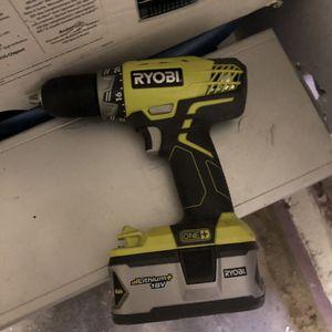 Ryobi 18v Drill for Sale in Garden Grove, CA