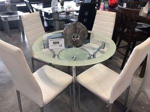 Delphi 5 Piece Dining Table Set for Sale in Hialeah, FL