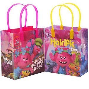 Trolls Dreamworks Small Goodie Candy Bags Birthday Party Supplies for Sale in Whittier, CA