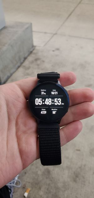 Galaxy Active 2 Bluetooth Smart Watch for Sale in Tacoma, WA