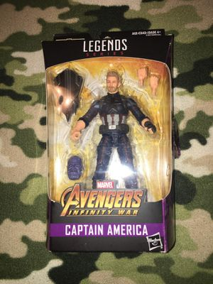 Marvel legends captain america infinity war for Sale in Grand Prairie, TX