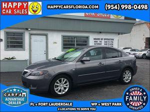 2008 Mazda Mazda3 for Sale in West Park, FL