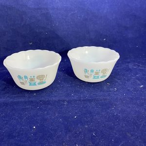 Vintage Modern Design Glass Small Bowls for Sale in Allentown, NJ
