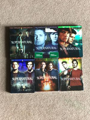 Supernatural DVDs, seasons 1-6 for Sale in Oak Park, IL