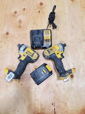 Dewalt 20v impact drills, w battery n Charger. for Sale in Vancouver, WA