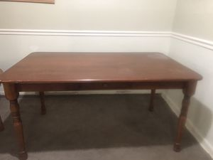 Nice wooden dining table for Sale in Capitol Heights, MD