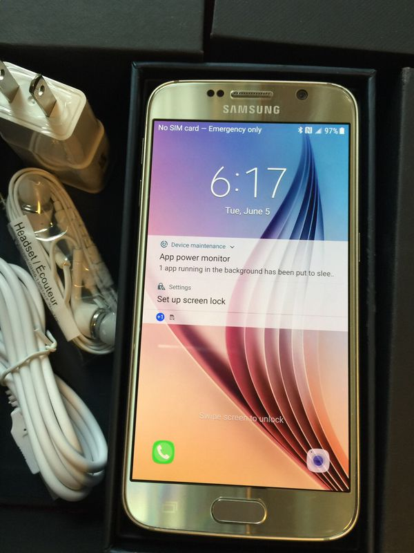 Samsung Galaxy s6 :Excellent Condition ,Factory Unlocked.