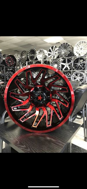 33 1250 18 RIMS AND TIRES for Sale in Phoenix, AZ