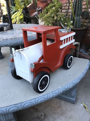 MAILBOX FIRE TRUCK 🚒 for Sale in Whittier, CA