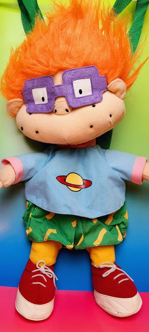 Nickelodeon Rugrats Chuckie 18 Inch Backpack Plush for Sale in Santa Ana, CA
